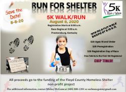 2020 ARH Run 4 Shelter 5K (POSTPONED)
