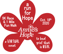 a VIRTUAL run for Hope