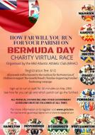Bermuda Day Virtual Race - Race for your Parish