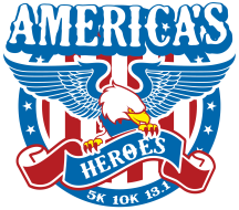 America's Heroes Virtual 5K/10K/13.1