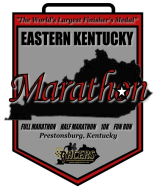 The Eastern Kentucky Virtual Marathon/Half Marathon/10K/5K