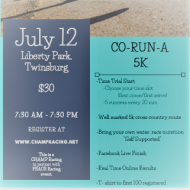 Co-Run-a 5K Cross Country Race