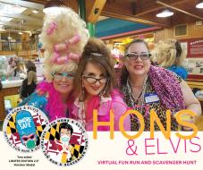 100 Hons & Elvis Virtual Fun Run and Scavenger Hunt