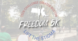Teen Challenge Greater Boston 2020 Virtual Freedom 5K