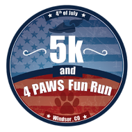 run.Windsor 4th of July 5K & Four Paws Fun Run *Virtual Event*