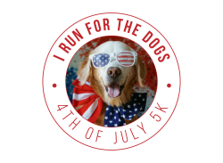 Run For The Dogs 4th of July Virtual 5K (SOLD OUT)