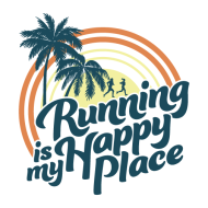 Running Is My Happy Place Virtual 5k/10k