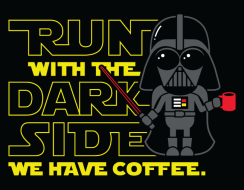 Run with the Dark Side, We Have Coffee Virtual 5k/10k Challenge