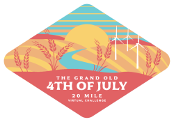 Grand Old 4th of July 20-Mile Virtual Challenge