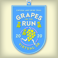 Grapes on the Run - A  Cayuga Lake Wine Trail Virtual 5k