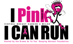 I Pink I Can Run Virtual 4 miler