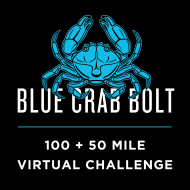 Blue Crab Bolt Virtual Trail Running Challenge