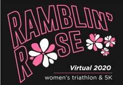 Ramblin' Rose Virtual Triathlon, Duathlon & 5K