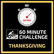60 Minute Challenge - Thanksgiving