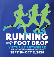 Running with Foot Drop!