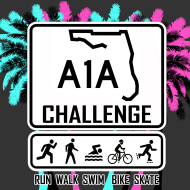A1A Virtual Challenge: Run, Walk, Swim, Bike, Skate