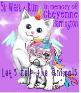 5K Walk/Run Cheyenne Harrington