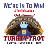 Claremont Sunrise Rotary Club Virtual Turkey Trot