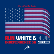 RUN WHITE & BLUE 5K