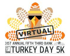 Fifth Third Bank Turkey Day Virtual 5K