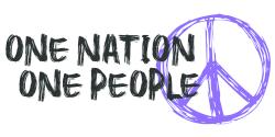 One Nation, One People, Peace Steve Shannon Virtual Bike Ride