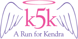 K5K -  A Run for Kendra Logo