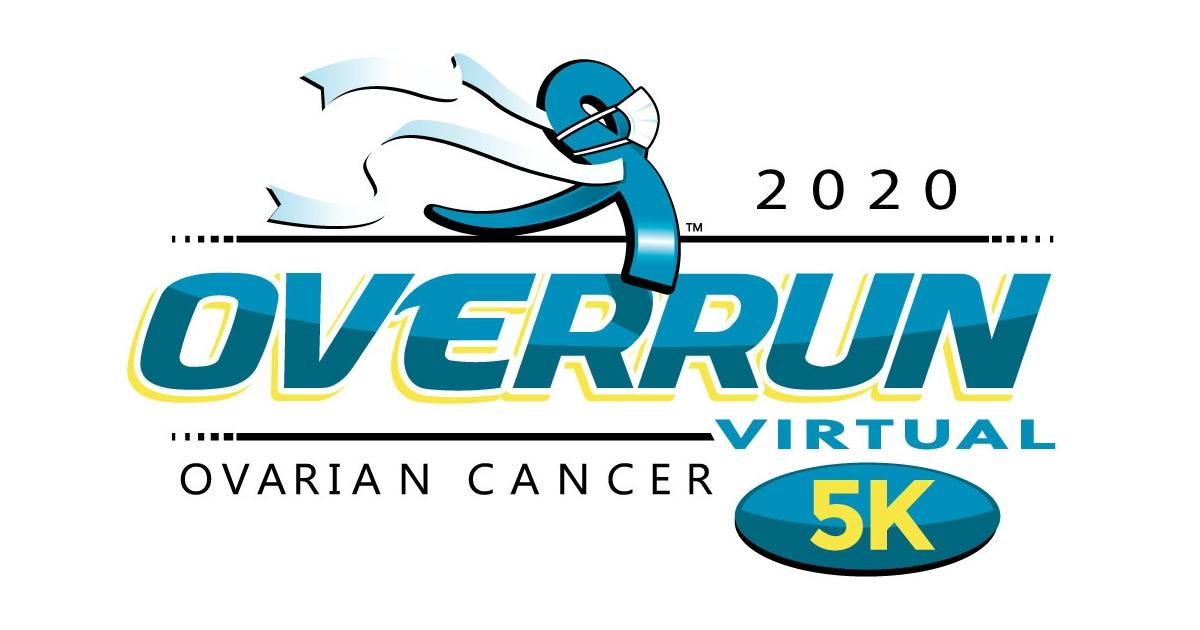 The Overrun Ovarian Cancer Virtual 5k 1 Mile Run Walk
