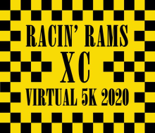 Racin' Rams XC Virtual 5k Fundraiser