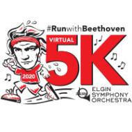 """The Elgin Symphony Orchestra Virtual 5K """"Run with Beethoven!"""""""