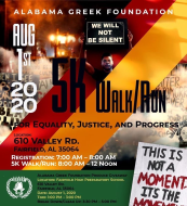 5K Run/Walk for Justice, Equality, and Progress