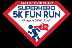CASA of River Valley Superhero 5k Fun Run