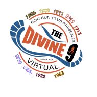 The Divine 9 Virtual 5K-10K Run/Walk