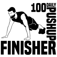 Make Gains With Simple Man: Increase Your Strength, Endurance and Core in this 30-Day Pushup Challenge Logo
