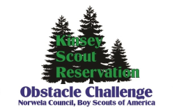 Boys Scouts Obstacle Challenge