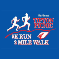 Tipton Picnic 5K Run/2 mile Walk -  Virtual