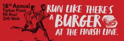 Tipton Picnic 5K Run / 2 Mile Walk / Kids Run- Virtual and Live
