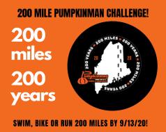 200 Mile Pumpkinman Challenge!