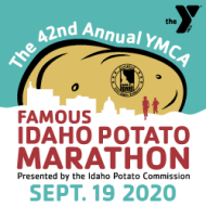 YMCA Famous Idaho Potato Virtual Marathon & Fun Runs presented by Idaho Potato Commission