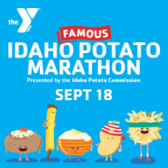 YMCA Famous Idaho Potato Marathon & Fun Runs presented by Idaho Potato Commission