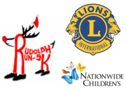 Rudolph 5K Virtual Run/Walk hosted by Westerville Lions Club sponsored By Nationwide Children's Hospital and Salaita Orthodontics