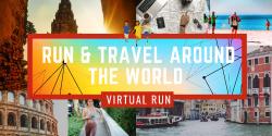 Travel & Virtual Run Around the World 2021