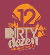 Dirty Dozen Off Road Run at Holiday Valley Resort