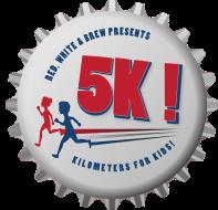 Red, White & Brew - Kilometers for Kids Virtual 5K