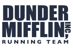 DUNDER MIFFLIN RUNNING TEAM