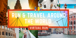 Custom Postcard Virtual Race
