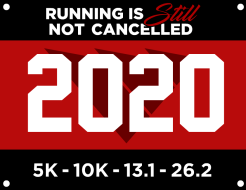 Running is STILL Not Cancelled : Virtual 5K - 10K - 13.1 - 26.2