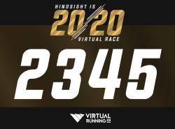 Hindsight is 2020 : Virtual 5K - 10K - 13.1 - 26.2