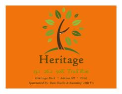 Heritage 13.1  26.2  & 50K Trail Run