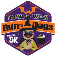 Howl-o-ween Virtual 5k Run for the Dogs