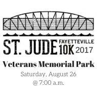 St. Jude Fayetteville 10K